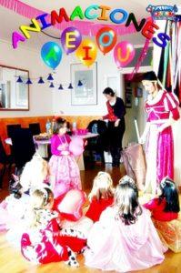 Cumpleaños infantiles en Sevilla