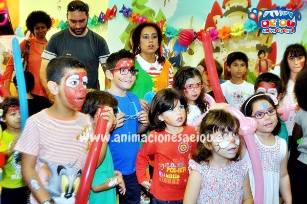 Animación para fiestas temáticas infantiles Frozen en Sevilla a domicilio