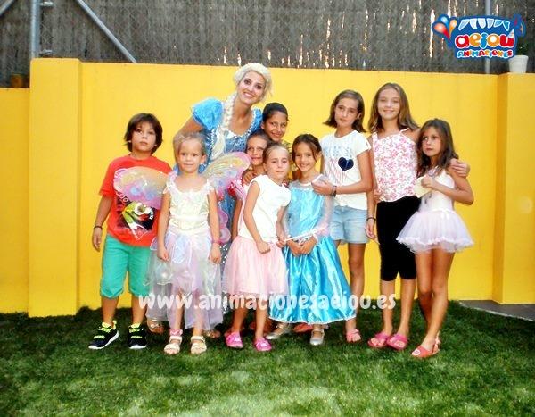 Animaciones para fiestas temáticas infantiles Frozen en Sevilla