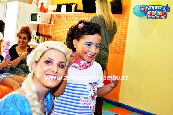 Animadores de fiestas infantiles a domicilio en Sevilla