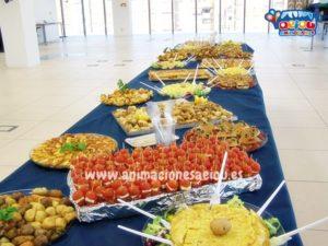 Catering para cumpleaños infantiles en Sevilla
