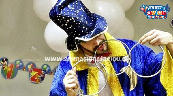 Magos para fiestas de cumpleaños infantiles en Sevilla