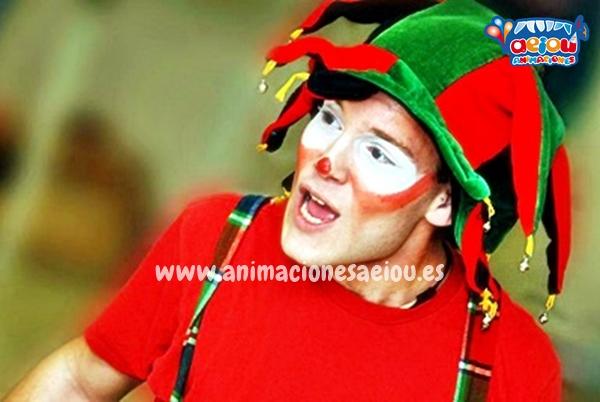 Payasos para fiestas de cumpleaños infantiles en Sevilla