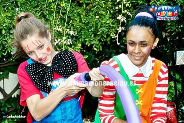 Animaciones para fiestas de cumpleaños infantiles y comuniones en Cáceres