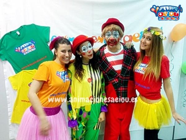 Animaciones para fiestas de cumpleaños infantiles y comuniones en Mairena del Aljarafe