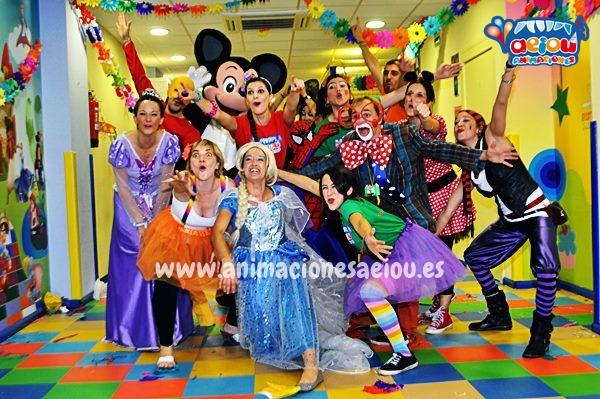 Animaciones para fiestas de cumpleaños infantiles y comuniones en Carmona