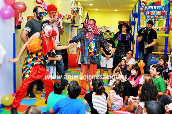 Animaciones para fiestas de cumpleaños infantiles y comuniones en Coria del Río