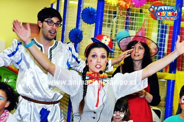 Animaciones para fiestas de cumpleaños infantiles y comuniones en La Rinconada