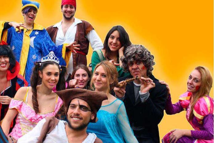 Animadores, magos y payasos en Cádiz