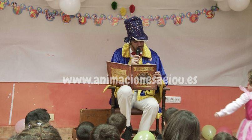 Animadores para fiestas infantiles en Cádiz