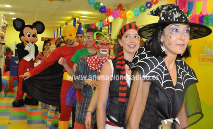Payasos para fiestas infantiles en Cádiz