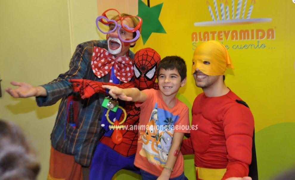 Payasos para fiestas infantiles en Extremadura