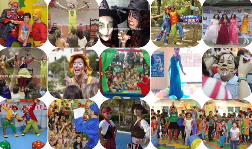 Animadores, magos y payasos en Alcalá de Guadaira
