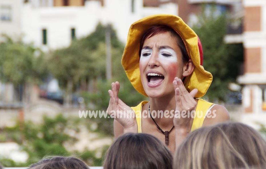 Animadores para fiestas infantiles en Cáceres