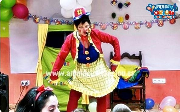 Magos para fiestas infantiles en Cáceres