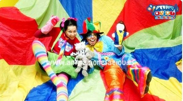 Payasos para fiestas infantiles en Écija