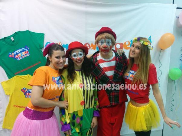 Payasos para fiestas infantiles en Carmona